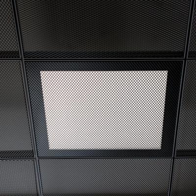 LED lámpa fém álmennyezethez